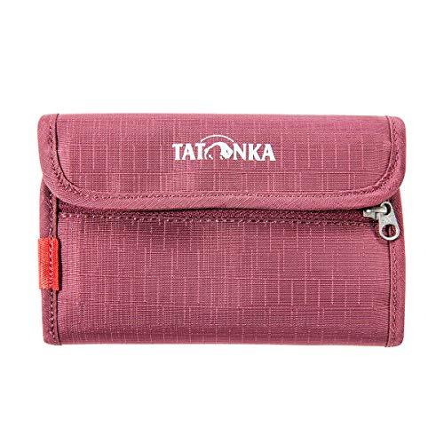 Tatonka ID Wallet Geldbeutel, Bordeaux red, 14,5 x 9,5 x 1 cm