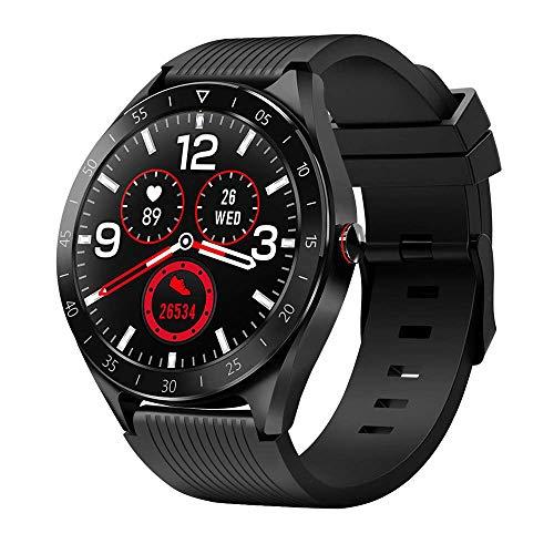 Smartwatch Bluetooth5.0 Fitness Armbanduhr 1,3 Zoll Voll Touchscreen IP68 Wasserdicht Fitness Trackers Sportuhr mit Pulsuhren Schlafmonitor Schrittzähler Kalorienzähler für Damen Herren iOS Android