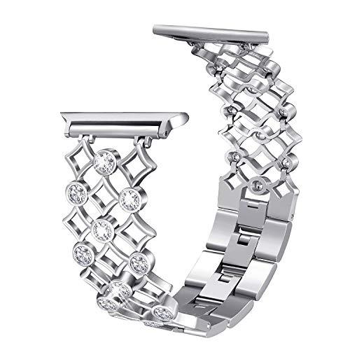 Aottom Kompatibel für Apple Watch 38mm 40mm Armband Damen Edelstahl,Armband Apple Watch Series 5 40mm Frau Armbänder Apple Watch 4 40mm Ersatzband Neu Apple Watch 6 für Apple Watch Series 6/5/4/3/2/1