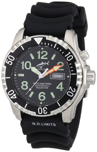 Chris Benz Unisex-Armbanduhr AnalogAutomatik Kautschuk CB-1000A