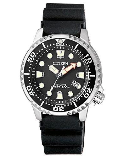 CITIZEN Damen Analog Quarz Uhr mit Plastik Armband EP6050-17E