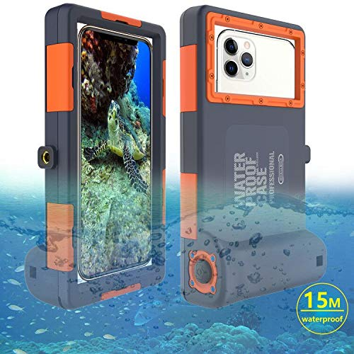 Tauchhülle Wasserdichte Handytasche 15M/50ft iPhone 6/6 Plus/6s/6s Plus/7/7 Plus/8/8+/X/Xs Max/XR/11/11 Pro/11 Pro Max, Samsung Galaxy S6/S8/S8 +/S9/S9 +/ S10/S10+/S10e/Note 8/Note 9/Note 10/Note10+