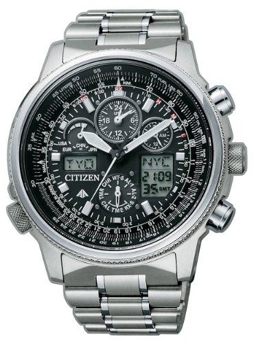Citizen Super Pilot - JY8020-52E - Herren-Armbanduhr aus Titan mit Funkfernsteuerung