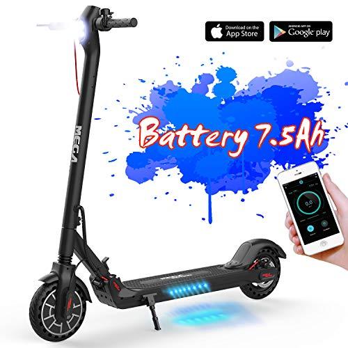 "MARKBOARD Elektro Scooter Elektroroller 8.5"" 350W Akku 7,5 Ah mit App Funktion, DREI Geschwindigkeitsmodi Faltbar Cityroller"