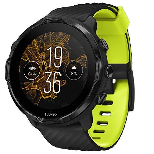 Suunto 7 Smartwatch mit vielseitigen Einsatzmöglichkeiten und Wear OS by Google