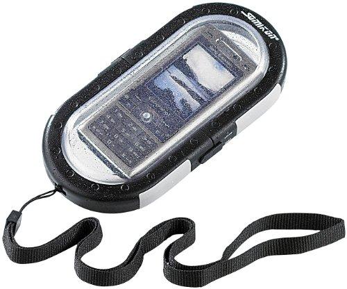 Somikon Handy Unterwassergehäuse: wasserdichte Universal-Tauchgehäuse für Handys bis 10 Meter (Unterwassergehäuse Smartphone)