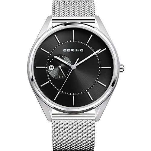 BERING Herren-Armbanduhr Analog Automatik Edelstahl 16243-077