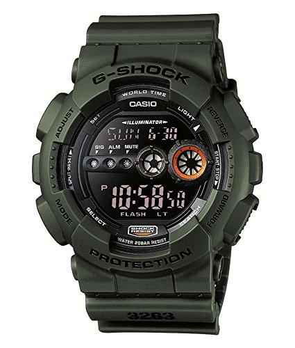 Casio G-Shock Herren Resin Uhrenarmband GD-100MS-3ER