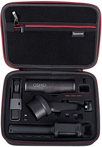 Smatree Tragetasche für DJI Osmo Pocket/Osmo Pocket Verlängerungsstab/Wasserfestes Gehäuse/Erweiterungsset/ND Filter und Andere Zubehör