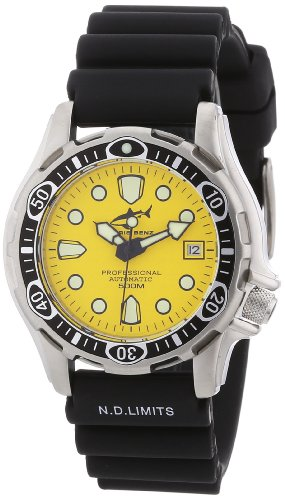 Chris Benz Unisex-Armbanduhr AnalogAutomatik Kautschuk CBAT-500-Y