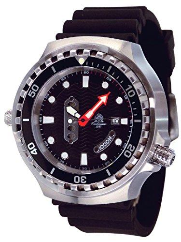 52mm XL Taucher Uhr von Tauchmeister - Saphirglas - T0326