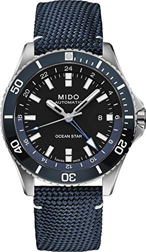 Mido Taucheruhr Automatik Ocean Star GMT Dunkelblau M026.629.17.051.00