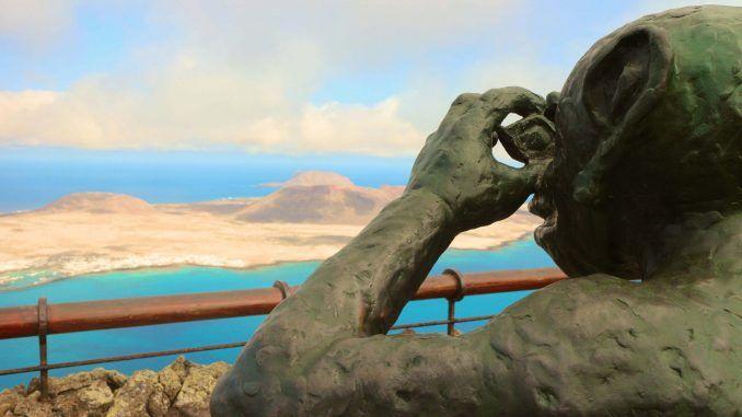 Kleines Zwischenfazit: Tauchurlaub auf Lanzarote macht richtig Spaß! Foto: Sascha Tegtmeyer lanzarote mirador la graciosa