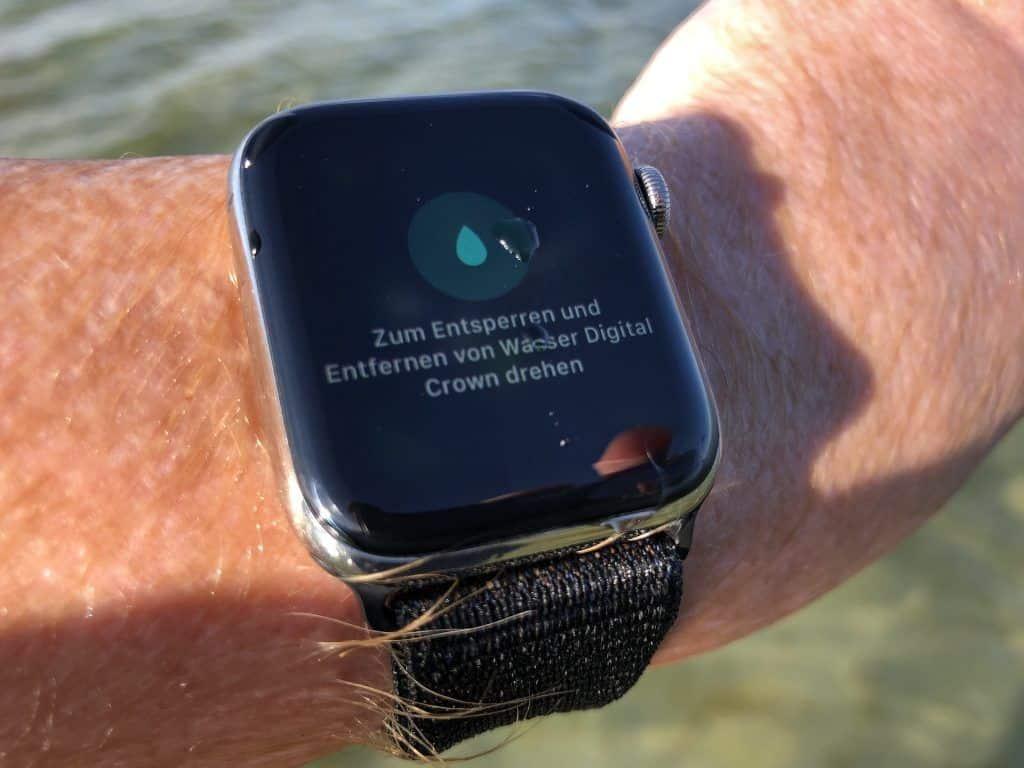 Apple Watch Salzwasser
