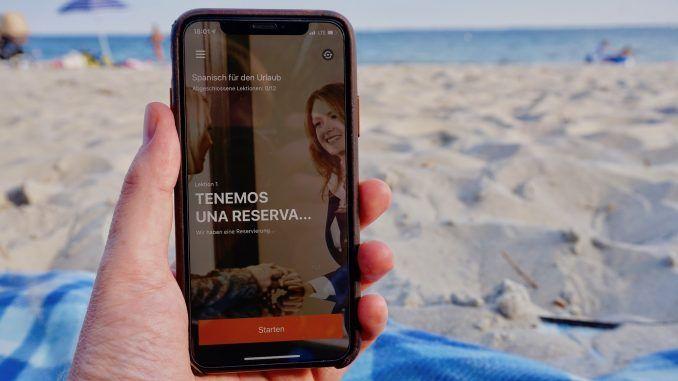 Schnell Sprachen lernen entspannt wie am Strand: Wir haben die Babbel App im Test ausprobiert! Foto: Sascha Tegtmeyer