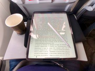 Wir haben das iPad Pro 2018 auf Reisen im Test ausprobiert und uns gefragt: Ersetzt das Tablet im Urlaub einen Laptop? Foto: Sascha Tegtmeyer