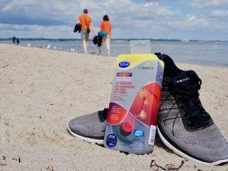 Wer sich im Urlaub viel bewegt, sollte seinen Füßen etwas Gutes tun: Mit Scholl In Balance 3/4 Schuheinlagen seid Ihr fit und aktiv auf Reisen. Foto: Sascha Tegtmeyer