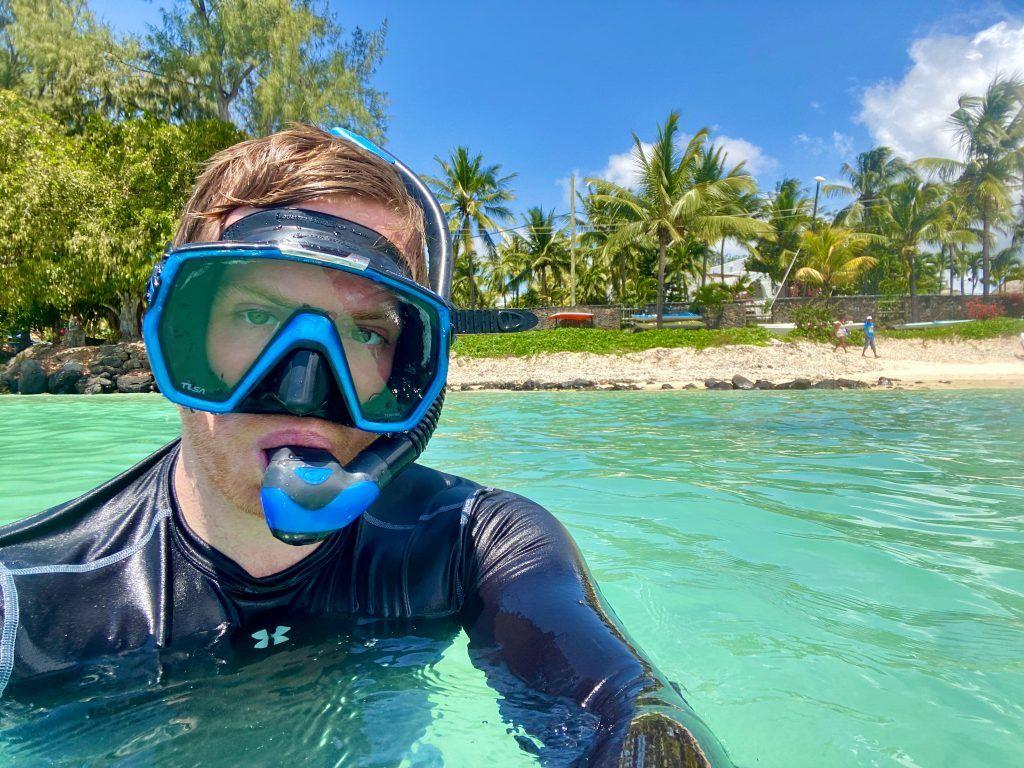 Tauchen und Schnorcheln stehen bei den Aktivitäten im Mauritius-Urlaub ganz hoch im Kurs. © Sascha Tegtmeyer
